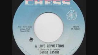 Denise LaSalle A Love Reputation