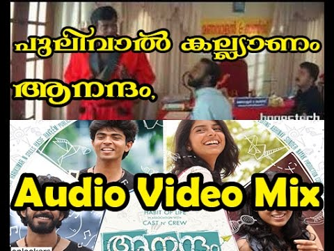 Aanandam and Pulivaal kalyanam Movie Mix