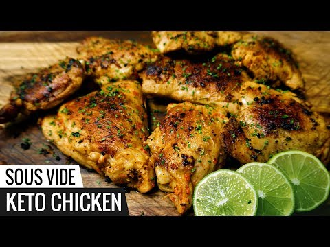 Sous VIDE KETO CHICKEN Recipe – LOW CARB Chicken and Very Flavorful!