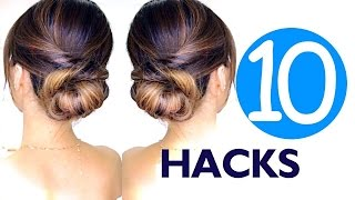 ★ 10 LAZY Girls Hair HACKS & Hairstyles | Hairstyle EASY!
