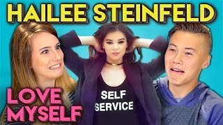 HAILEE STEINFELD - LOVE MYSELF (REACT: Lyric Breakdown)