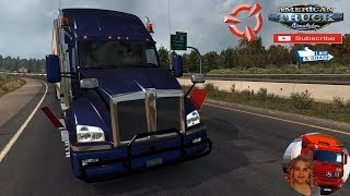 American Truck Simulator (1.36)   Kenworth t880 Phoenix to Page Arizona DLC Delivery Jazzycat Trailer + DLC's & Mods  Support me please thanks Support me economically at the mail vanelli.isabella@gmail.com  Roadhunter Trailers Heavy Cargo  http://roadhunt
