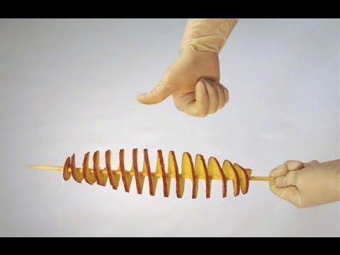 видео: Вот как легко сделать станок для торнадо картофеля!!