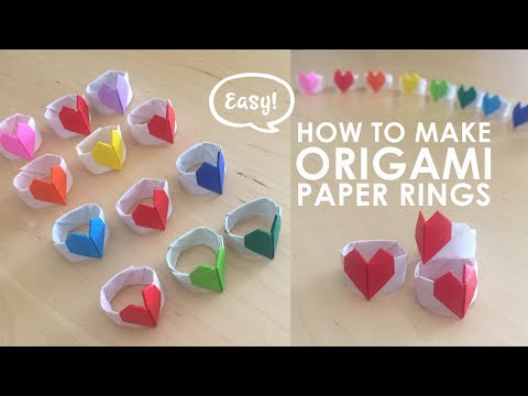 How to Make a Paper Heart Ring - Instructables | 360x480