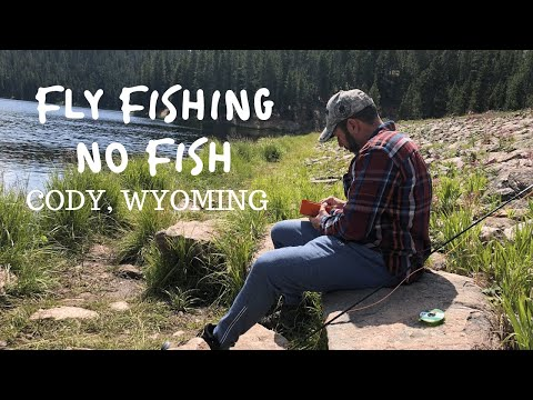 FLY FISHING NO FISH | DATE NIGHT IN CODY WYOMING | Our Full-time RV Journey