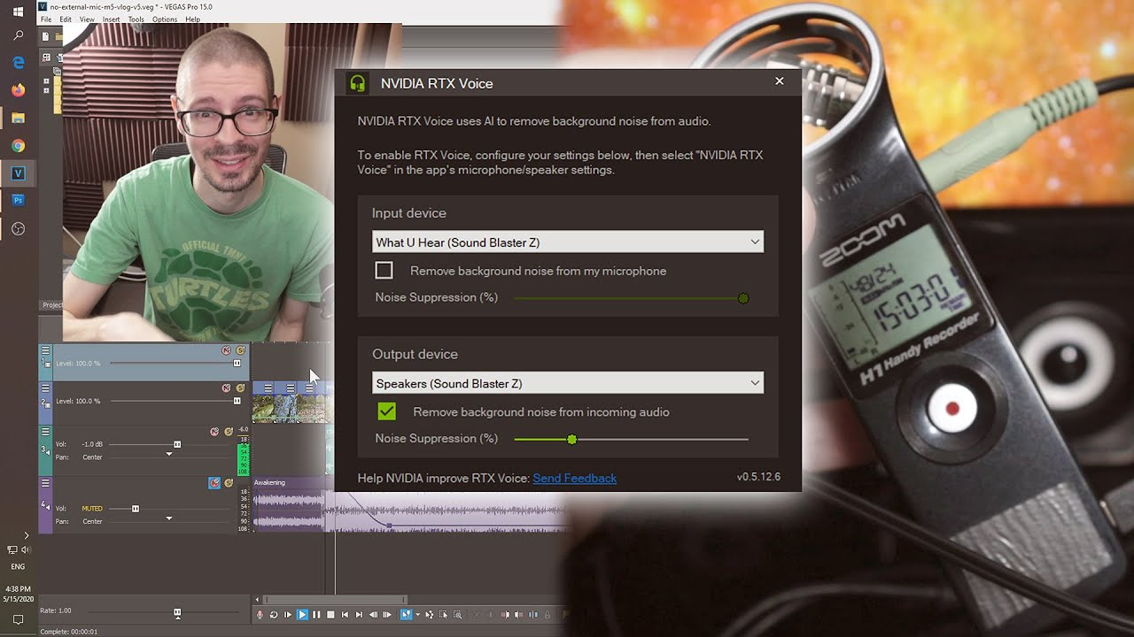 Using RTX Voice Beta Noise Reduction For Video Work (Howto ...