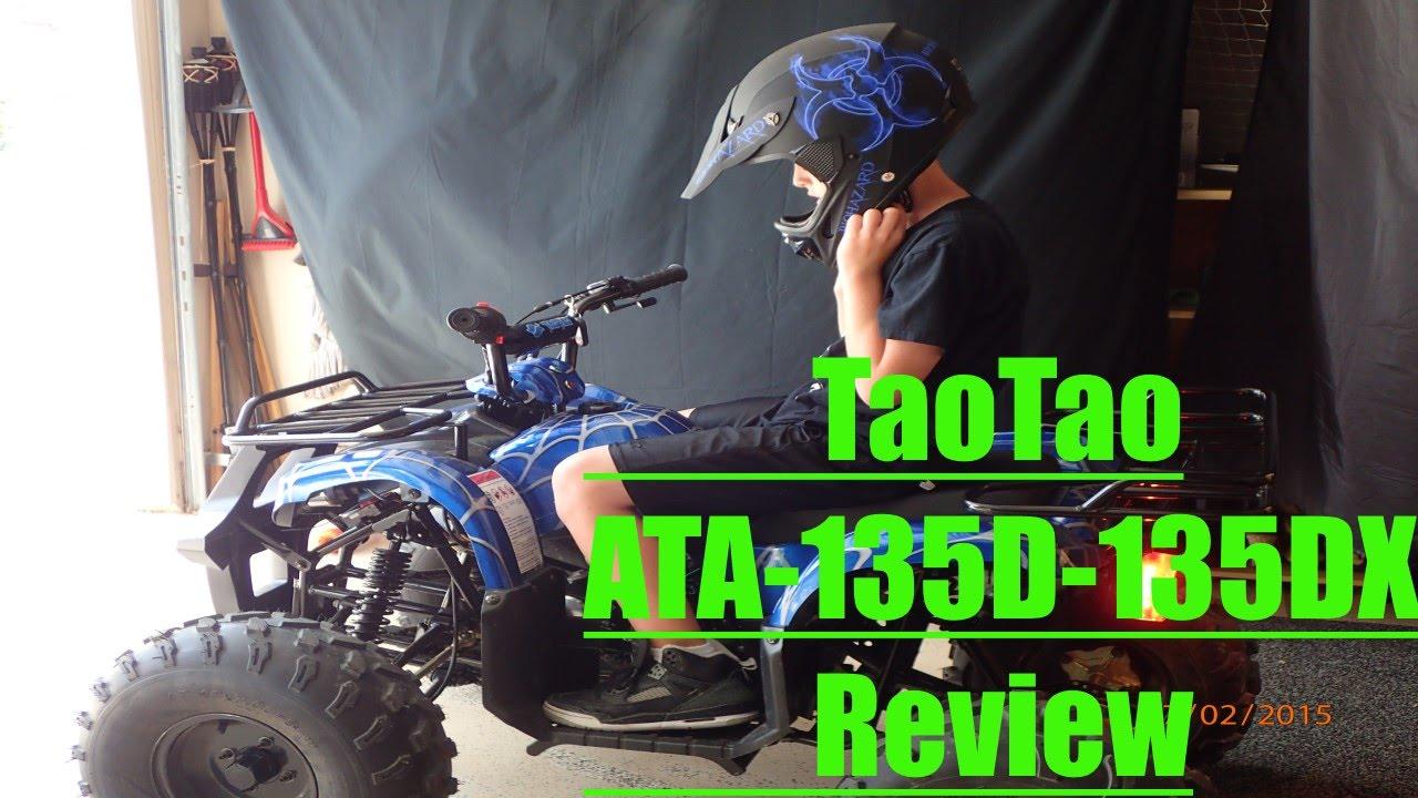 ATV-125cc -T135DX Tao Tao (Review) - YouTube