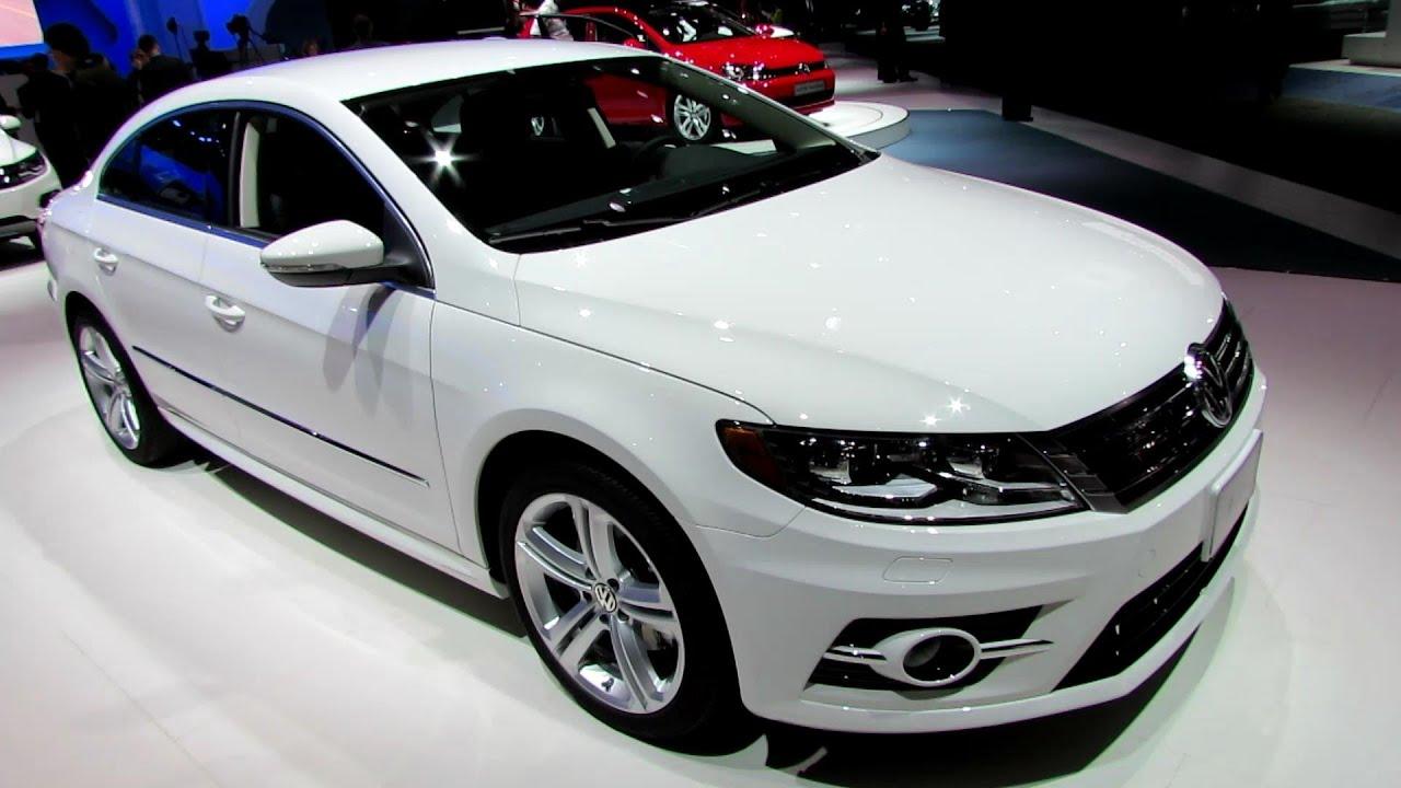 2014 Volkswagen CC 2,0T R-Line - Exterior and Interior Walkaround - 2013 LA Auto Show - YouTube
