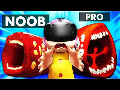 Summoning TRAIN EATER With VR BABY HANDS