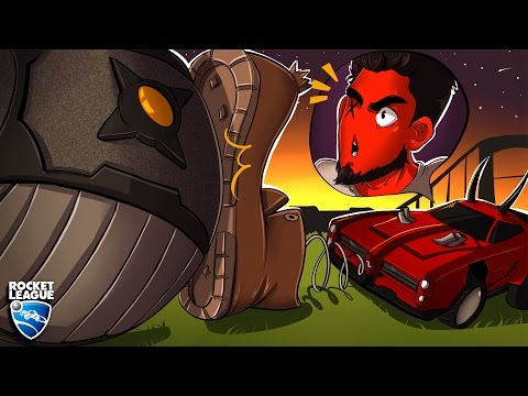 Rocket League: Rumble! | GO GO GADGET BOOT! (CaRtOoNz | Ohmwrecker vs H2O Delirious | Bryce)