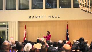 Michaëlle Jean speaks at Brock University about the Transformative Power of the Arts