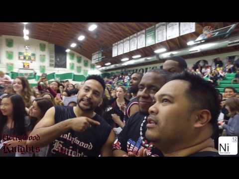 The Hollywood Knights Celebrity Basketball Team vs. Thousand Oaks High School