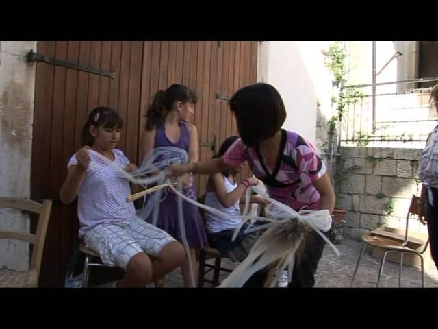 Traglie 2011 - preparativi traglie trecce e taralli
