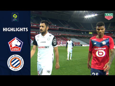 Lille Montpellier Goals And Highlights