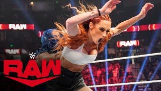 Sasha Banks decimates Becky Lynch and Bianca Belair Raw Oct 4 2021