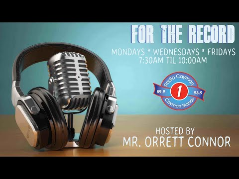FOR THE RECORD WITH HOST,   ORRETT  CONNOR.  FEBRUARY 8TH 2021