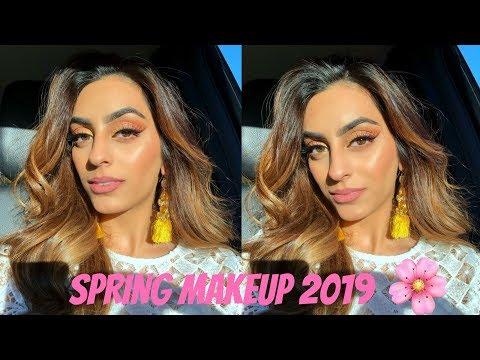 GLOWY SPRING MAKEUP TUTORIAL/ Spring 2019