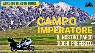ABRUZZO IN MOTO Tours: CAMPO IMPERATORE - il nostro parco giochi preferito !