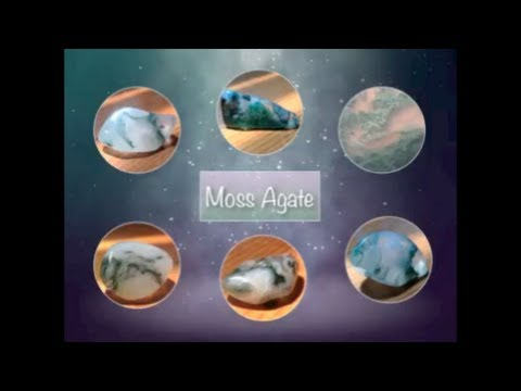 Moss Agate   Lets Talk Stones