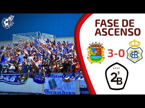 RESUMEN | CF Fuenlabrada 3-0 Recreativo de Huelva.  Jornada 1 Fase de ascenso 2ª División (ida)