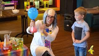 """Научное шоу для детей на день рождения Киев - """"химическое шоу для детей Киев"""" BananaDay.org"""