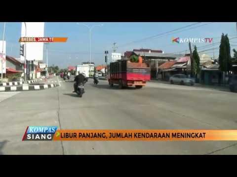 Pantura Padat Didominasi Kendaraan Dari Jakarta