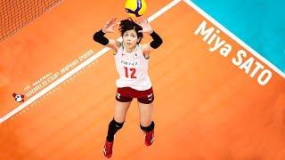 Miya Sato (佐藤 美耶) - BEST Volleyball SETTER Women's WORLD CUP Japan 2019