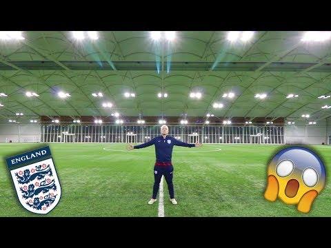 BECOMING AN ENGLAND FOOTBALLER!!