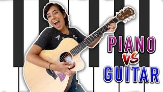 Should I Learn Guitar or Piano?
