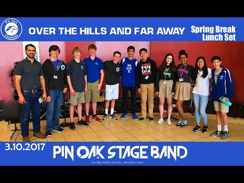 Over The Hills and Far Away (cover) - Pin Oak Middle School Stage Band