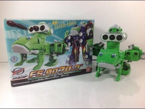 Review: Buster Machine FS-0O Frog (Tokumei Sentai Go-Busters)