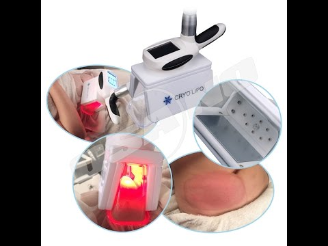 How does 4 Applicator Cryolipolysis Machine Cool Body sculptor Working