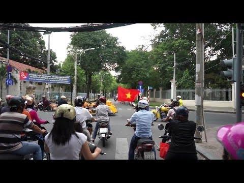 SEA Games Fire arrives in Saigon Ho Chi Minh City Part 2