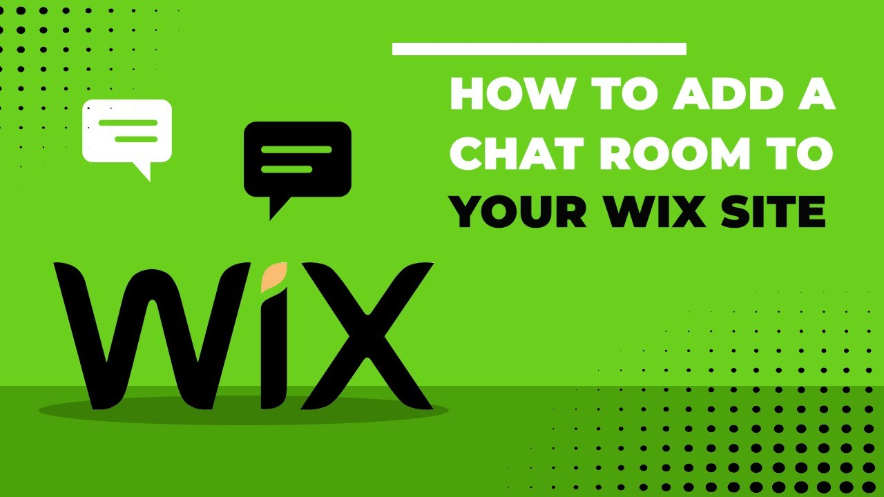 Wix Chat How To Add A Room Your Site Few Clicks Group