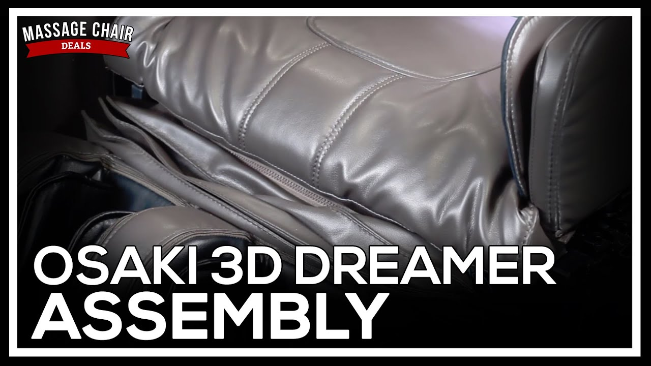 Osaki OS 3D Pro Dreamer Massage Chair Assembly Instructions