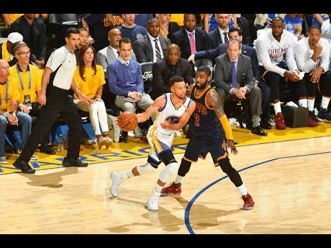 Steph Curry and Kyrie Irving Duel in NBA...