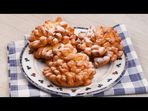 Flower fritters the simple recipe for a delicious snack