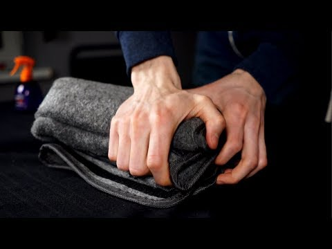 ASMR Felt bag that needs to have his back cracked
