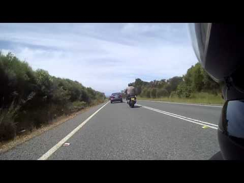 Bald Hill to Royal National Park - Ducati ST4
