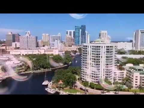 Spectacular Views Of Downtown Fort Lauderdale Florida