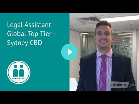 Legal Assistant - Global Top Tier - Sydney CBD