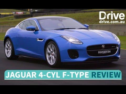 2018 Jaguar F-Type four-cylinder First Drive Review   Drive.com.au - Dauer: 3 Minuten, 15 Sekunden