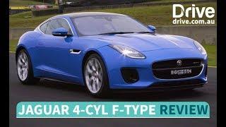 2018 Jaguar F-Type four-cylinder First Drive Review | Drive.com.au