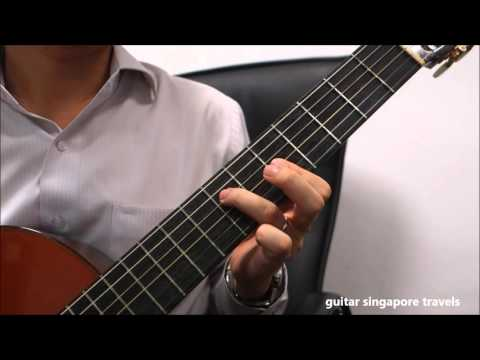 Shanghai Tan 上海滩 On Classical Guitar First Part