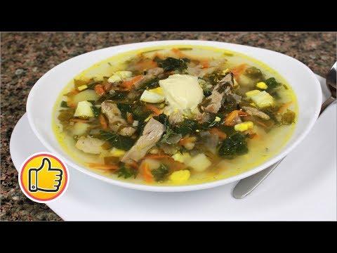 Мой Зеленый Борщ со Щавелем и Крапивой | Green Borsch, Sorrel Soup