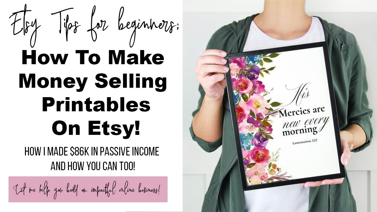 image regarding Etsy Printables named How In the direction of Generate Financial Marketing Printables Upon Etsy I Designed 86K Upon PASSIVE Dollars  Your self Can Far too!