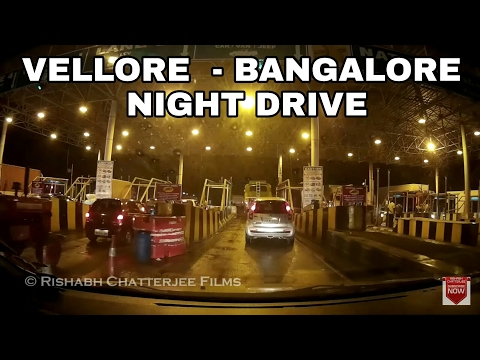 We Got Lost! - Vellore To Bengaluru Road Trip | Night Drive Toyota Innova | #RCTravels