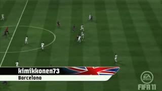 FIFA 11 - Лучшие голы за неделю. Раунд 18