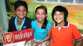 Zaijian Jaranilla, Xyriel Manabat and Bugoy Cariño are excited about new Summer station ID