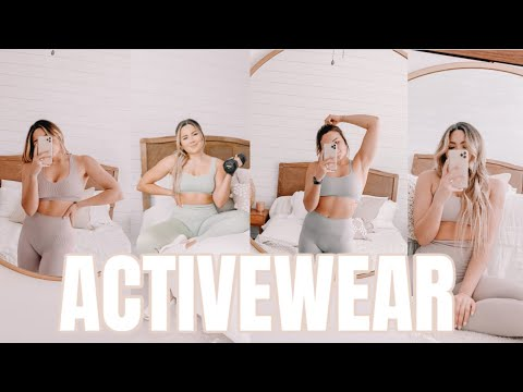 MY ACTIVEWEAR COLLECTION & FAVORITE WORKOUT CLOTHES [ gymshark + set active + nvgtn + more ]